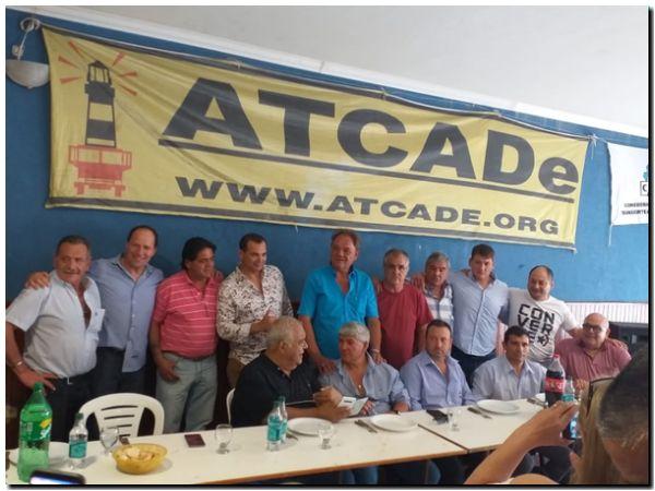 Reunión de delegados provinciales de ATCADe en Necochea