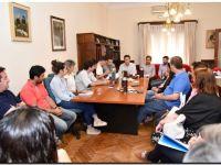 El intendente Rojas explicó a los concejales la difícil situación económica