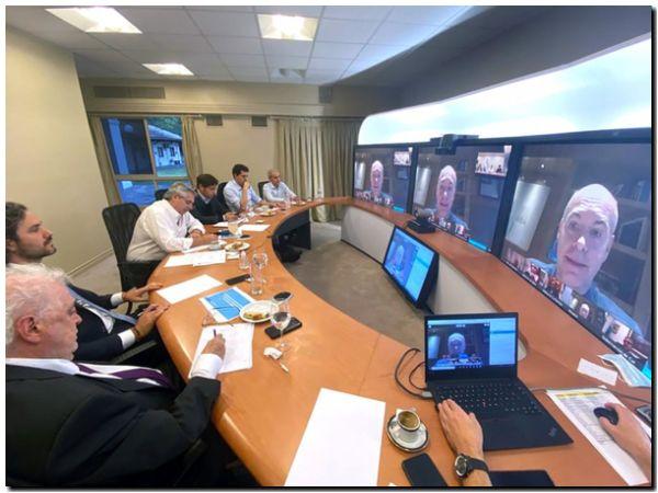 Alberto Fernández dialogó con los gobernadores y hoy anuncia la extensión de la cuarentena