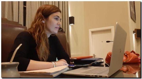 """""""Mi sueño es ser intendenta de Necochea"""", expresó Jimena López"""