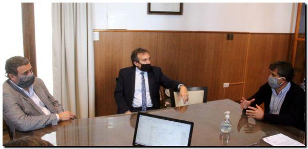 En Lobería coordinaron protocolos para los bancos