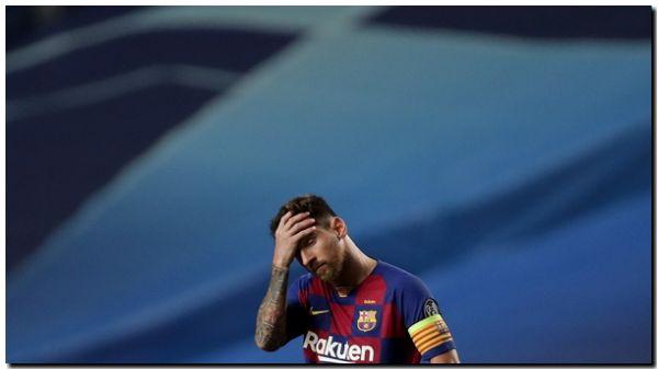 Messi se marcha de Barcelona