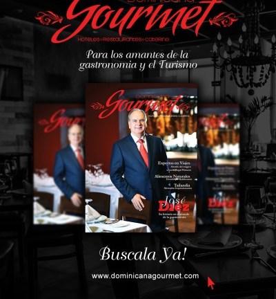 Circula la primera edición 2015 de la revista Dominicana Gourmet