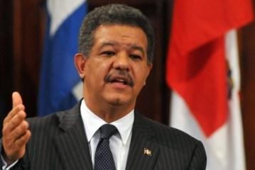 Leonel afirma seguirá trabajando por el crecimiento y bienestar de los dominicanos