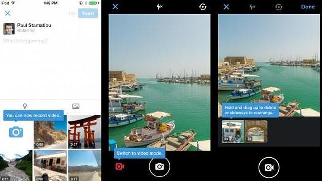 Twitter añade mensajes en grupo como WhatsApp y vídeos de hasta 30 segundos