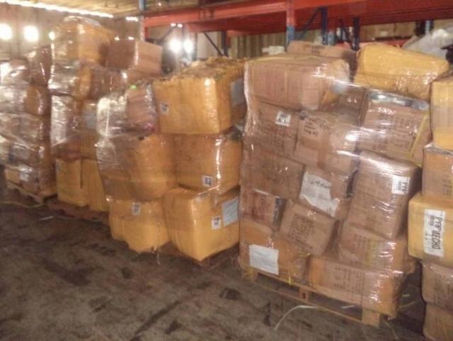 Ministerio Defensa incauta  contrabando de ropas y zapatos en la frontera