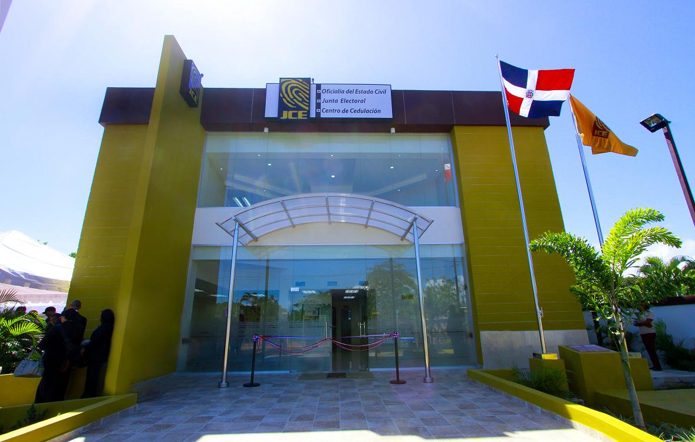 Nuevo edificio de la JCE en Sabana De la Mar