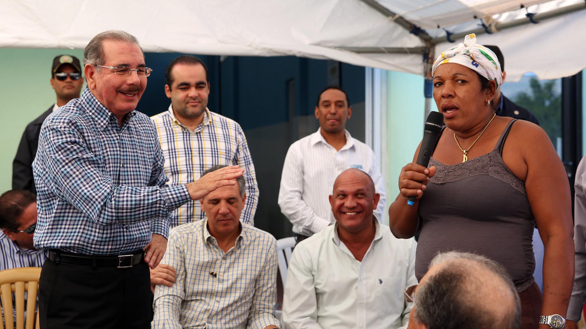 Presidente Medina ofrece apoyo a ganaderos de San Juan