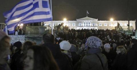 Más de 15 mil personas protestan contra la Troika en Atenas