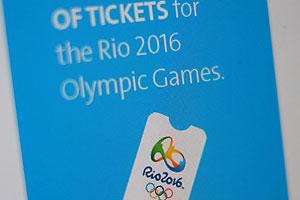 En Basil ya empezaron a vender las boletas para los Juegos Olímpicos de 2016