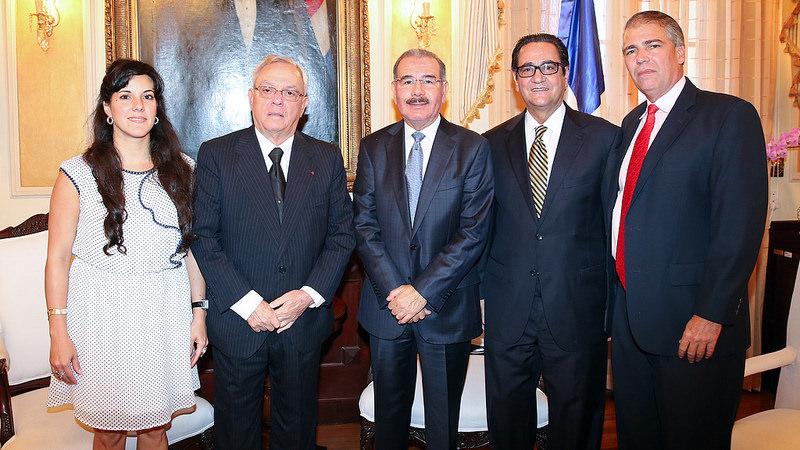 Danilo recibe en Palacio a Eusebio Leal, Historiador de La Habana