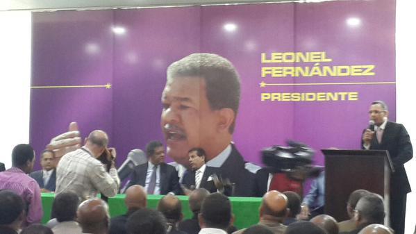 Leonel pide  a ex generales que lo ayuden a combatir el narcotráfico