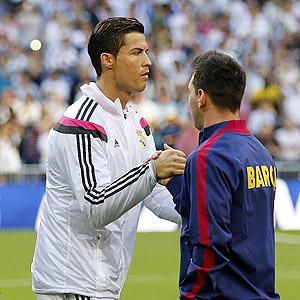Messi ha sido tres veces mejor que Ronaldo en 2015