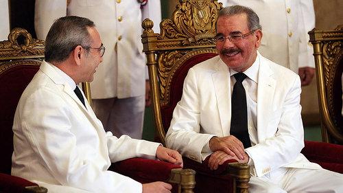 Danilo recibe las cartas credenciales de tres embajadores