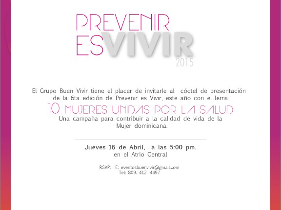 Prevenir es vivir, este jueves en Agora Mall