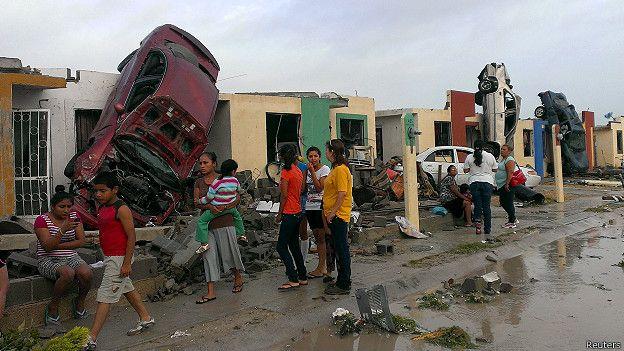 Tornado mata 13 personas en México
