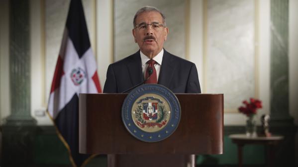 Danilo inicia su primer discurso de campaña electoral