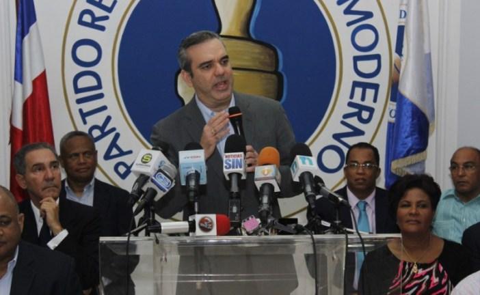 Abinader afirma que el discurso de Danilo degradó la investidura presidencial