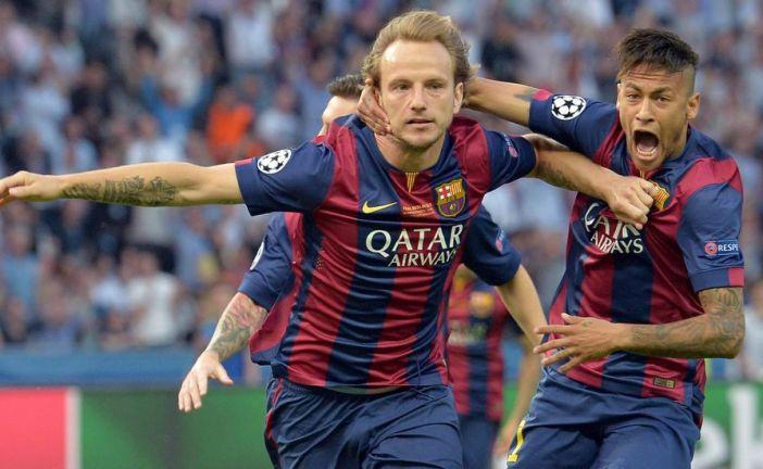 Barcelona 1 – Juventus 0 . Empieza el segundo tiempo