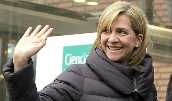 El rey de España revoca el título de duquesa de Palma a la infanta Cristina