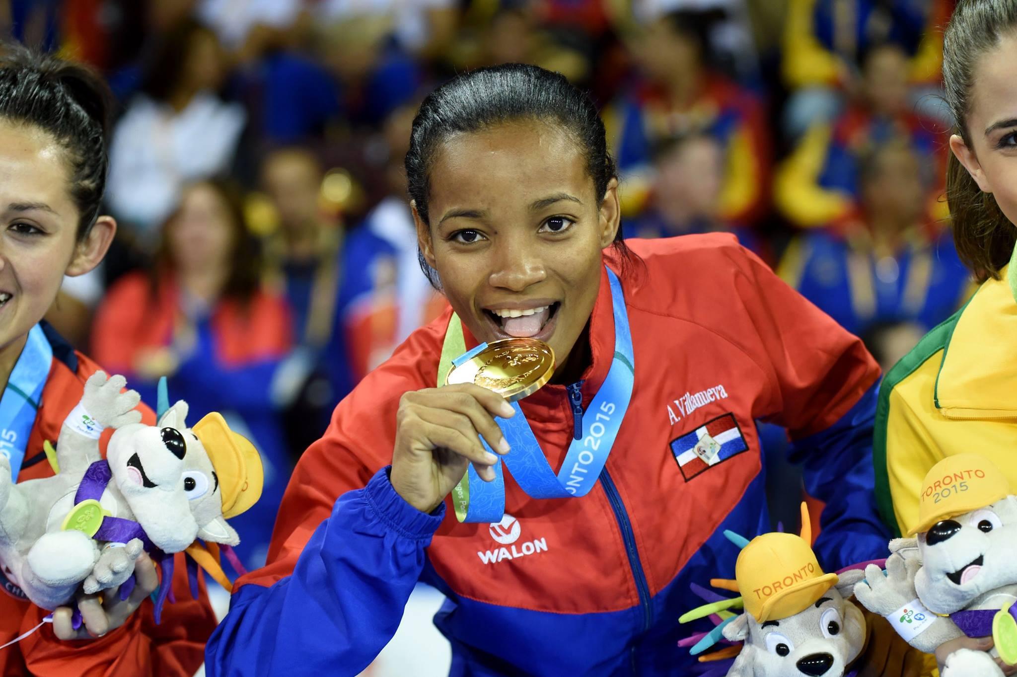 ¡ Plátano Power ! Ana Villanueva,  tercer oro en los Panamericanos