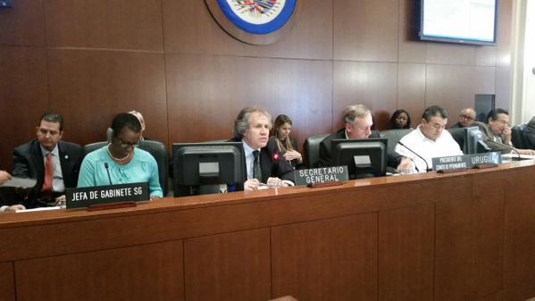 OEA reconoce soberanía de RD; favorece diálogo con Haití