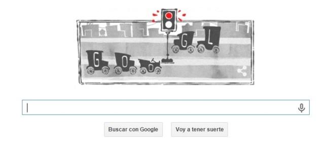 Google celebra el primer semáforo eléctrico