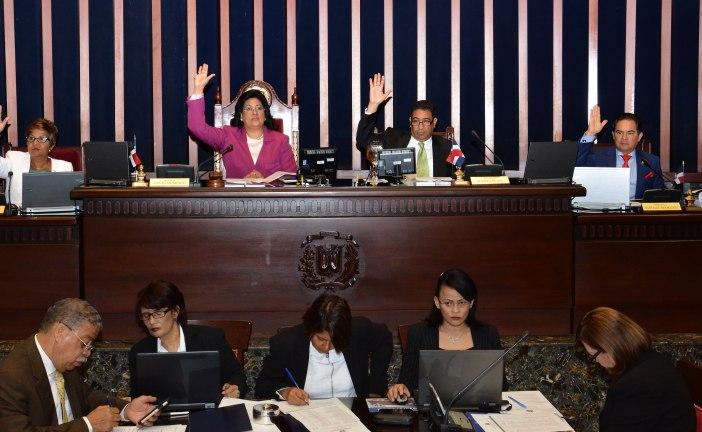 Senado aprueba resolución en respaldo al cumplimiento de la ley