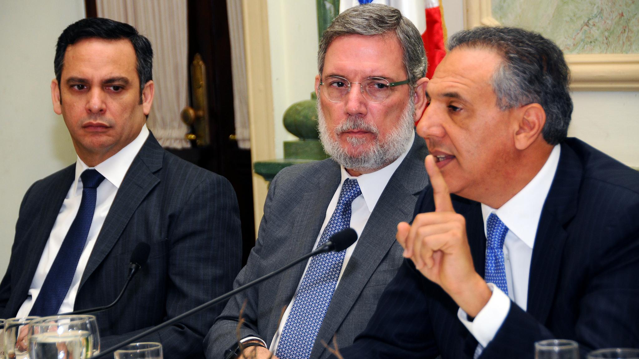 Peralta resalta logros del Gobierno en sus tres años