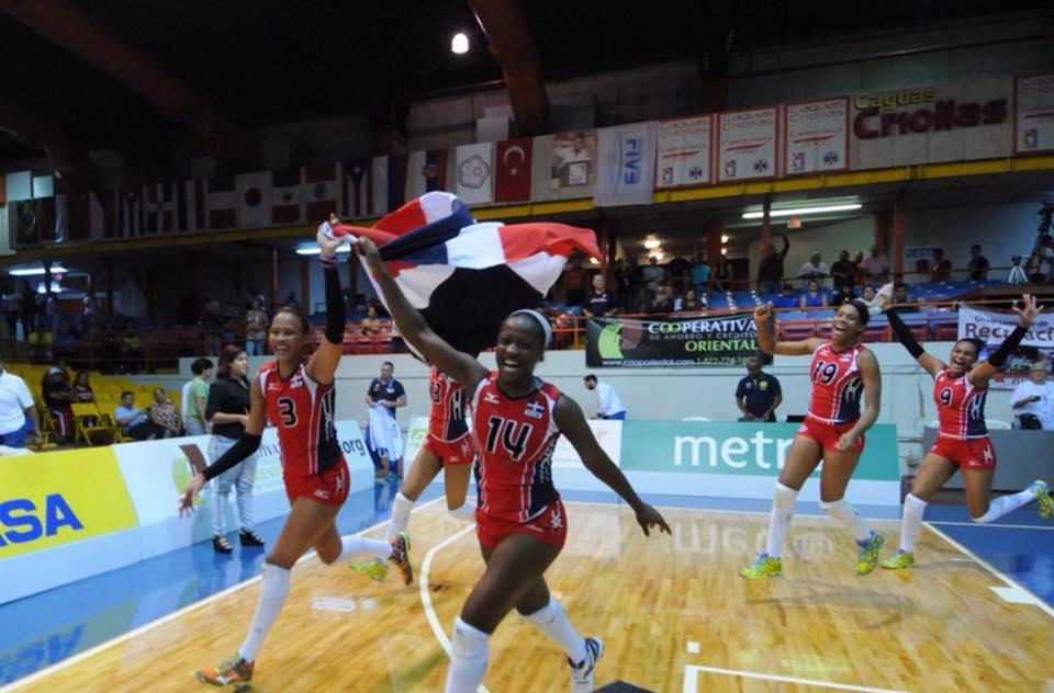 ¡ Las Reinas del Caribe obtienen oro !