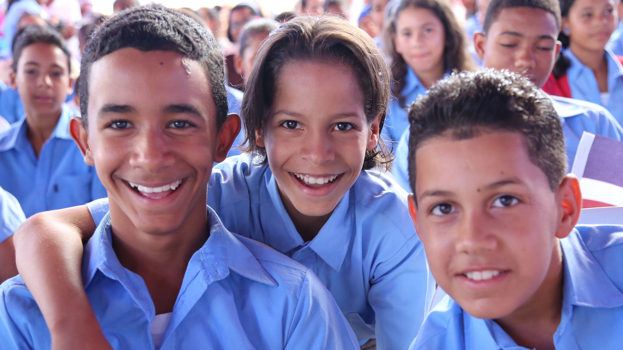 Medina entrega escuelas en Espaillat y La Vega