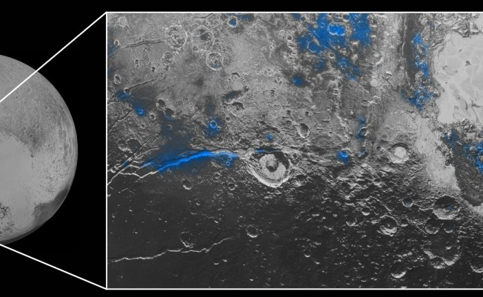 Plutón también contiene agua congelada igual que Marte