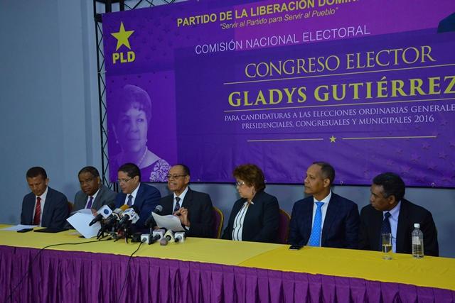 El PLD da a conocer primeros resultados de encuestas; Roberto y Juancito serán ratificados