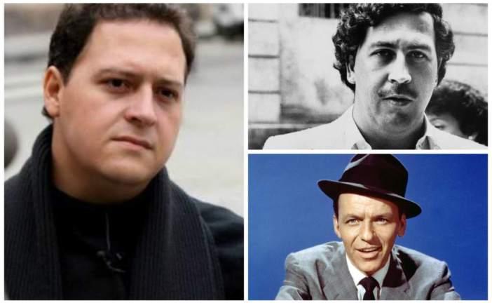 """Hijo de Pablo Escobar asegura que su padre era """"socio"""" de Frank Sinatra"""