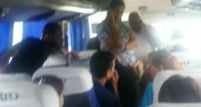 Asaltan guagua de la Metro y se roban medio millón de pesos