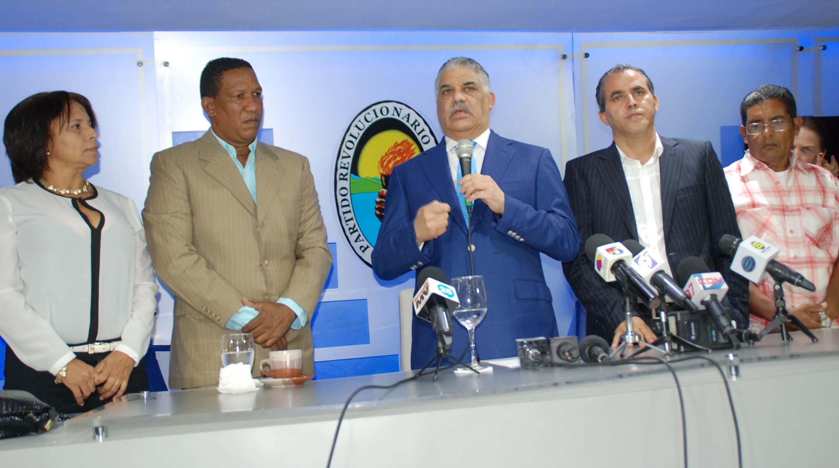 Dirigentes del PRM se juramentan el el PRD