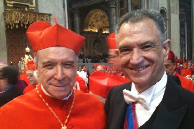 """Grimaldi llamó a """"defender el honor y la valentía"""" del Cardenal"""