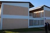 Medina inaugura dormitorios en Universidad ISA