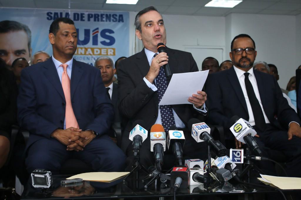 """Abinader: """"crisis de la justicia afecta seguridad ciudadana y clima de inversión"""""""