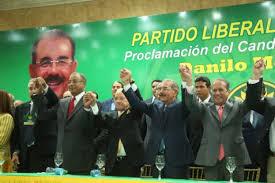 Amable proclama a Danilo candidato del PLR