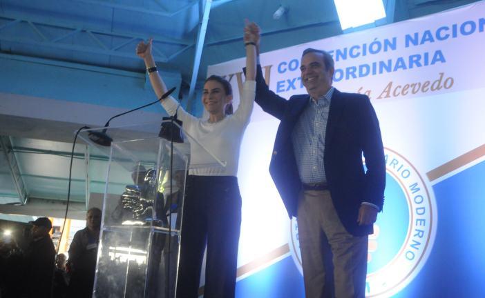 PRM oficializa candidatura de Carolina Mejía a la Vicepresidencia