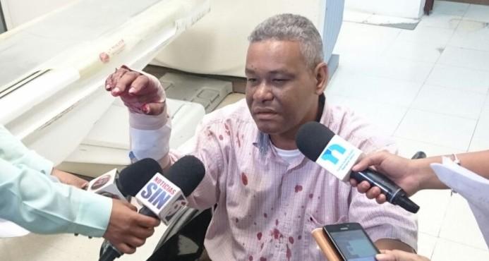 Delincuentes hieren a cuatro personas en asalto Sirena Villa Mella
