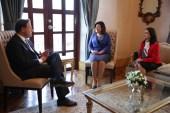 Vicepresidenta Margarita Cedeño sostiene intercambio políticas sociales en Panamá