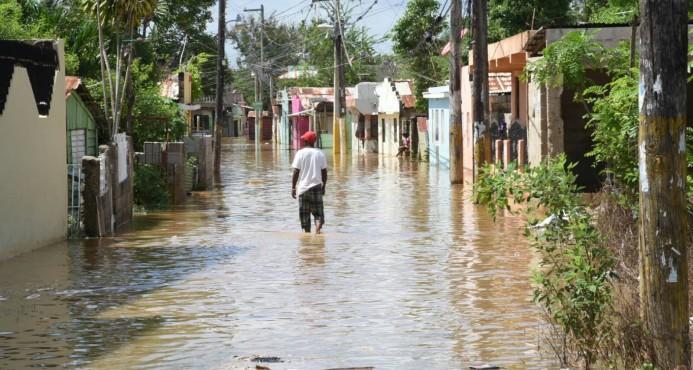 La Barquita Norte está inundada
