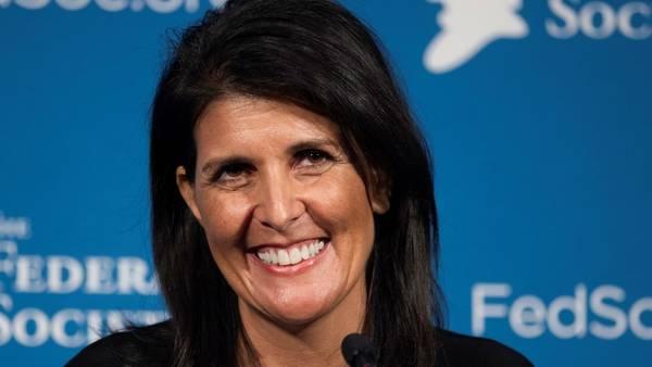 Donald Trump elige a una gobernadora como embajadora ante la ONU