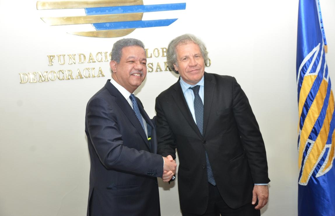 """Almagro y Leonel tratan """"diversas vertientes"""" sobre situación política de Venezuela"""