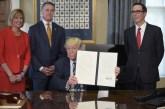 Trump toma medidas para revisar políticas impositivas y financieras de Obama