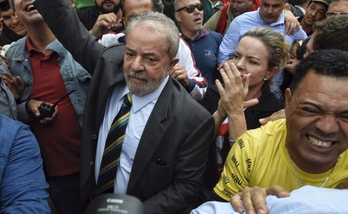 Lula comparece por caso de corrupción en su contra
