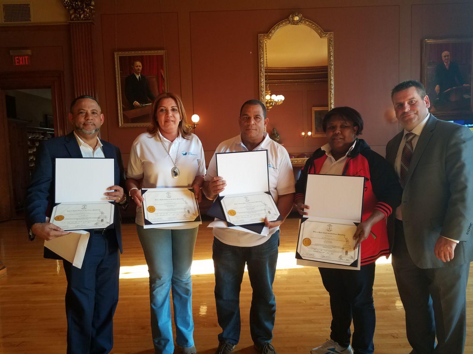 Estado de Rhode Island reconoce Fundación Sila Ozuna por su labor en RD