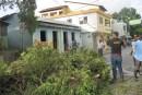 Irma provoca inundaciones y deslizamiento de tierra en Samaná, Nagua y Puerto Plata